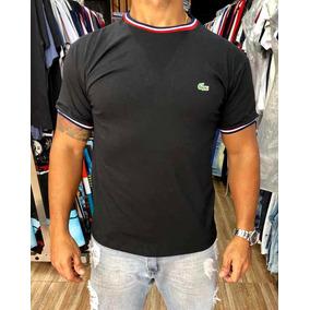 149ee76e2d5a5 Camiseta De Malha Lacoste - Camisetas Manga Curta no Mercado Livre ...