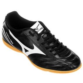 bbc601c5dc Chuteira Futsal Mizuno Morelia Neo Club In Masculina - Preto