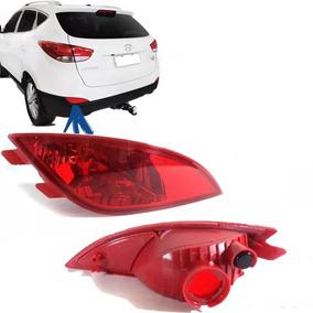 Refletor Lanterna Neblina Parachoque Hyundai Ix35 Esquerda