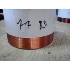 2 Bobinas P Medio Grave 77 Mm 8 Ohms