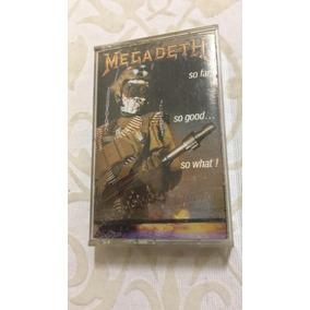 Fita K7 Importada Megadeth So Far, So Good ...so What! Xdr