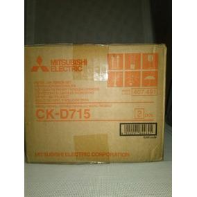 Papel Mitsubishi Ck D715 400 Fotos ((media Caja)) 60verdes