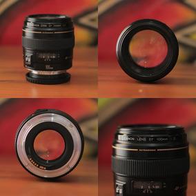 Lente Canon 100 Mm F:2.0