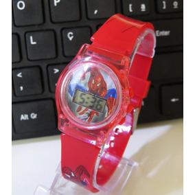 c3e40f51fbb Relogio Homem Aranha - Relógio Infantil no Mercado Livre Brasil