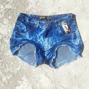 Shorts Jeans Plus Size Lycra Hot Pants 46 Ao 54