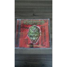 Kreator - Violent Revolution - Cd Argentino Frete R$10,00