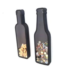 Quadro Porta Rolhas De Vinho + Quadro Tampinhas Kit