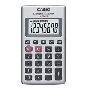 2d5365b34c9 Calculadora De Bolso Básica Casio Hl 820v 8 Dígitos - Calculadoras ...