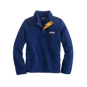 Poleron Polartec® Snap Shep Azul