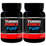 Kit Com 2 Super Turbo Force - Pump - 60 Cápsulas - Intlab