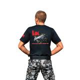 Kit Camiseta Hk + Boné Hk Preto