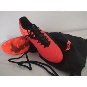 c3a47c153df01 Botines Nike Tiempo Est. 1984 - Botines Naranja en Mercado Libre ...