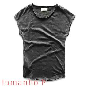 Camiseta Sem Mangas Regata Lavagem Camisa Algodao.