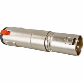 Adaptador P10f C/trav/ Xlr M Hyx .