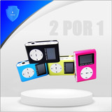 Mp3 Radio Fm Deportivo Shuffle Soporta Micro Sd. Promo 2x1