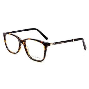 65407dbb2e5f6 Armação Oculos Grau Feminino Acetato Dg3126 Turtle Original