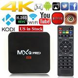 Mxq Pro 4k Android Tvbox Roku Iptv Entrego Hoy Netflix Kodi