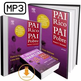 Áudio Livro Pai Rico Pai Pobre Robert Kiyosaki Frete Grátis