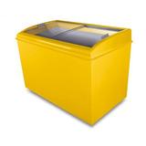 Freezer Horizontal 400 Litros Fh400c Amarelo 220v - Ártico