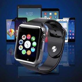 Relógio Smart Whatch A1 Bluetooth Original Chip Lacrado Pret
