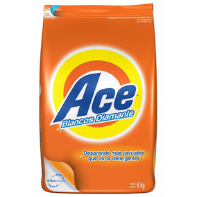 Ace Regular Detergente En Polvo, Bolsa De 6 Kg