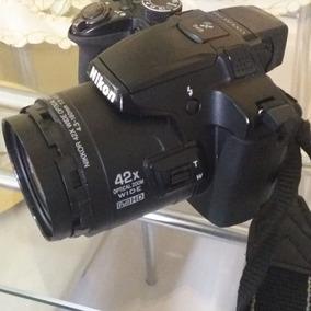 Câmera Nikon Coolpix P510 Seminova 16.1 Mpx Zoom 42x Full Hd