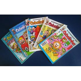 Lote Hq Gibi Almanaque Do Cebolinha - 5 Revistas