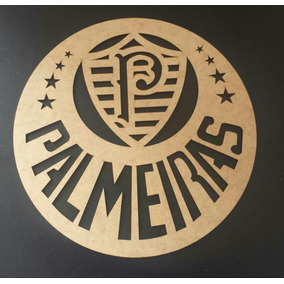 8e8e7519dd Escudo Do Palmeiras Em Madeira - Arte e Artesanato no Mercado Livre ...