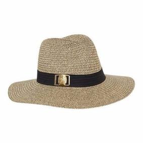Sombrero Con Cinta Negra Holly Color Cafe Arroz Sn529 A dd6757c18da