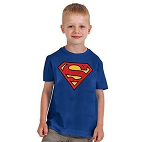 Camiseta Superman 10-12 Años Dc Comics