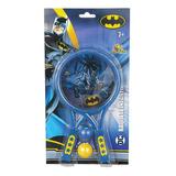 Kit Raquete Infantil Batman