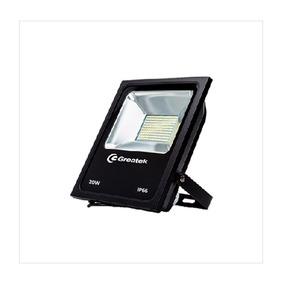 Refletor Led Holofote 20w Ip66 Resistente Agua Greatek Nfe