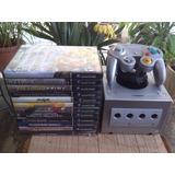 Nintendo Gamecube + 12 Juegos + Memoria 1019 Bloques