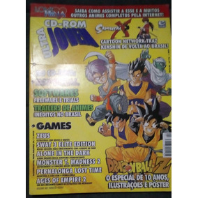 Revista Ultra Jovem N 4 Alone In The Dark Dragon Ball Pôster