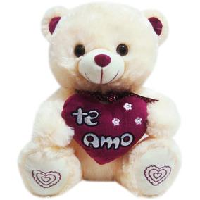 c44db21988 Urso Com Coração Eu Te Amo Lilás - Pelúcias no Mercado Livre Brasil