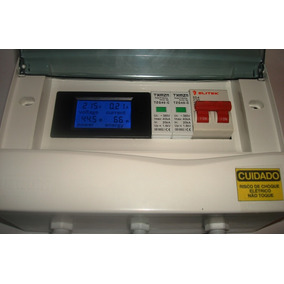 String Box Cc + Box Ca Fotovoltaico Bivolt 20a