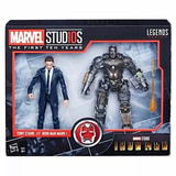 Figura Marvel Colección Tony Y Iron Man Mcu 10th Im1 Hasbro