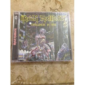 Iron Maiden Cd Somewhere In Time Enhanced Novo Lacrado
