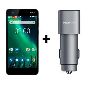 Nokia 2.1 + Cargador Auto Doble Usb 3.0
