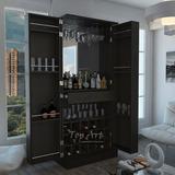 Mini-bar De Melamina - Muebles De Bar - Mueble Organizador