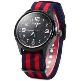 Relógio Curren 8195 Luxo Esportivo Original