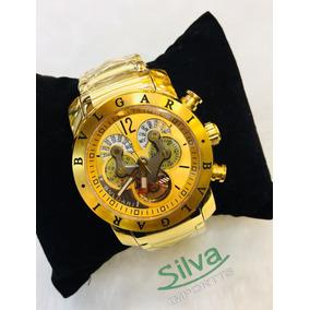 9e7610ee6d324 Relógio Bvlgari X Men De Luxo - Relógios De Pulso no Mercado Livre ...
