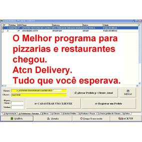 Programa Para Pizzaria E Delivery Entregas De Sanduiches