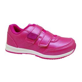 Tênis Feminino Basic Kids Pink 45050-053 Pé Com Pé