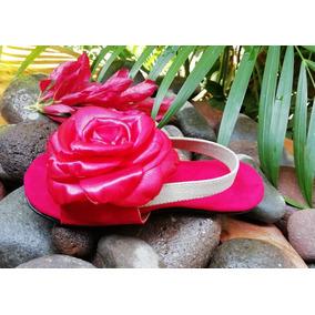 cb50023ed Zapatos De Tela Para Bautizo - Zapatos para Niñas Rojo en Mercado ...