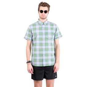 1bf045f986c Camisa Blanca Boton Down - Camisas Manga Corta de Hombre en Mercado ...