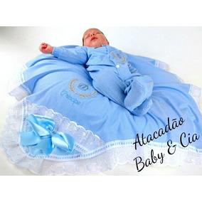 Saida Maternidade 2pç Bebe 10 Kits Atacado Revenda 20 Peças