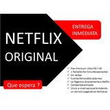 Cuente Netflix   Original   Cero Caída   Renovación Mensual.