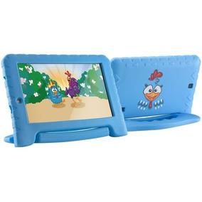 Tablet Da Galinha Pintadinha Pad Com Capa Wifi Core 7p