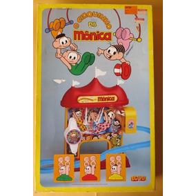 O Cirquinho Da Mônica Antigo Tec Toy Na Caixa.